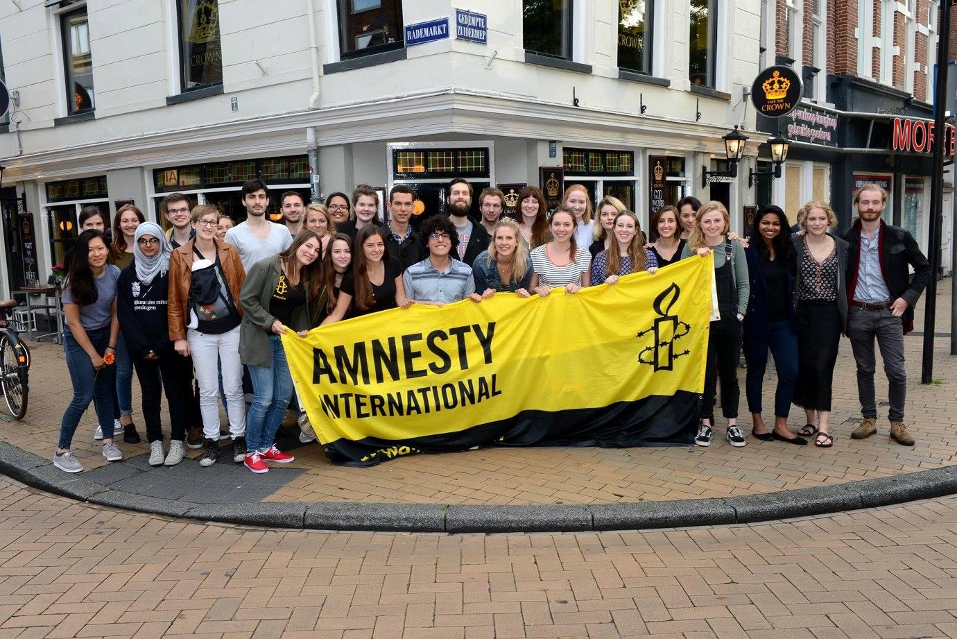 Amnesty International Groningen Studentengroep Student Group